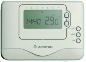 Ariston Kablolu PİLLİ Oda Termostatı (Tüm Kombilerine Uyumlu)