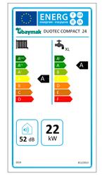 Baymak Duotec Compact 24/24 Kw (20.000 Kcal) Tam Yoğuşmalı Kombi - Thumbnail