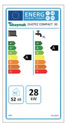Baymak Duotec Compact 30/30 Kw (26.000 Kcal) Tam Yoğuşmalı Kombi - Thumbnail