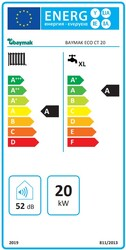 Baymak Eco Ct Premix 20/24 Kw (17.000 Kcal) Tam Yoğuşmalı Kombi - Thumbnail