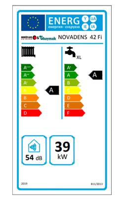 Baymak&Brötje Novadens 42/42 Kw (36.000 Kcal) Tam Yoğuşmalı Kombi