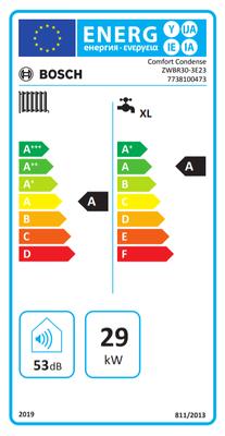 Bosch Comfort Condense 30/30 Kw (26.000 Kcal) Tam Yoğuşmalı Kombi