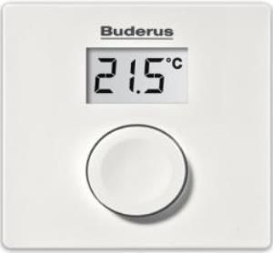 Buderus RC100 Modülasyonlu Kablolu Oda Termostatı