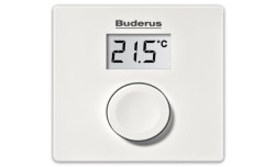 Buderus RC100 Modülasyonlu Kablolu Oda Termostatı - Thumbnail