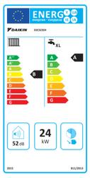 Daikin Condense 24/24 Kw 20.000 Kcal Yarı Yoğuşmalı Kombi - Thumbnail