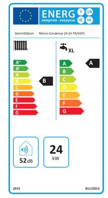 Demirdöküm Nitron Condense P24 (20.640 Kcal) Yarı Yoğuşmalı Kombi