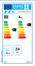 Eca Calora Premix 24/24 Kw (20.000 Kcal) Tam Yoğuşmalı Kombi - Thumbnail