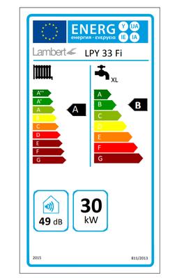 Lambert (Baymak) Lpy 33/33 Kw (28.000 Kcal) Tam Yoğuşmalı Kombi