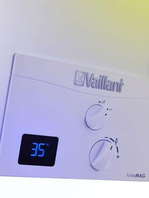 Vaillant (Baca Dahil) TurboMag 12 Lt. Doğalgazlı Hermetik Şofben