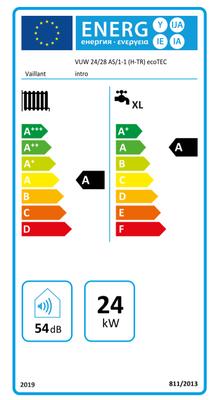 Vaillant ecoTEC İntro 24/28 Kw (20.000 Kcal) Tam Yoğuşmalı Kombi