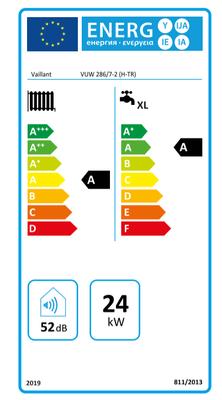 Vaillant ecoTEC 286/7-2 Pure 24/28 Kw 20.000K Tam Yoğuşmalı Kombi
