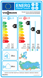 Viessmann (Montaj Dahil) WS2050MDH1 18.000 Btu A++ İnverter Klima - Thumbnail