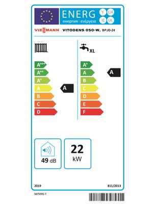 Viessmann Vitodens 50-W 24/29 Kw 20.000 Kcal Tam Yoğuşmalı Kombi