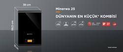 Warmhaus MinerWa Premix 25/31 Kw 20.000 Kcal Tam Yoğuşmalı Kombi - Thumbnail