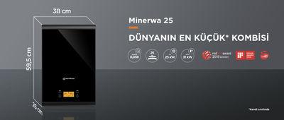 Warmhaus MinerWa Premix 25/31 Kw 20.000 Kcal Tam Yoğuşmalı Kombi